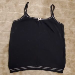 Marc Jacobs Collection classic black tank
